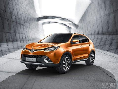 2016 MG GS SUV - First details, pictures and engines