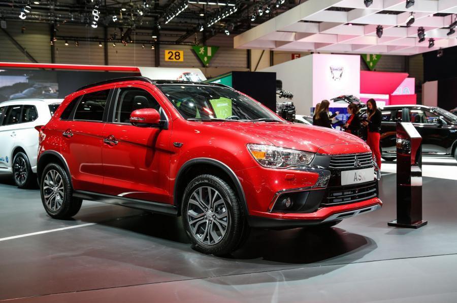 2016 Mitsubishi ASX facelift revealed