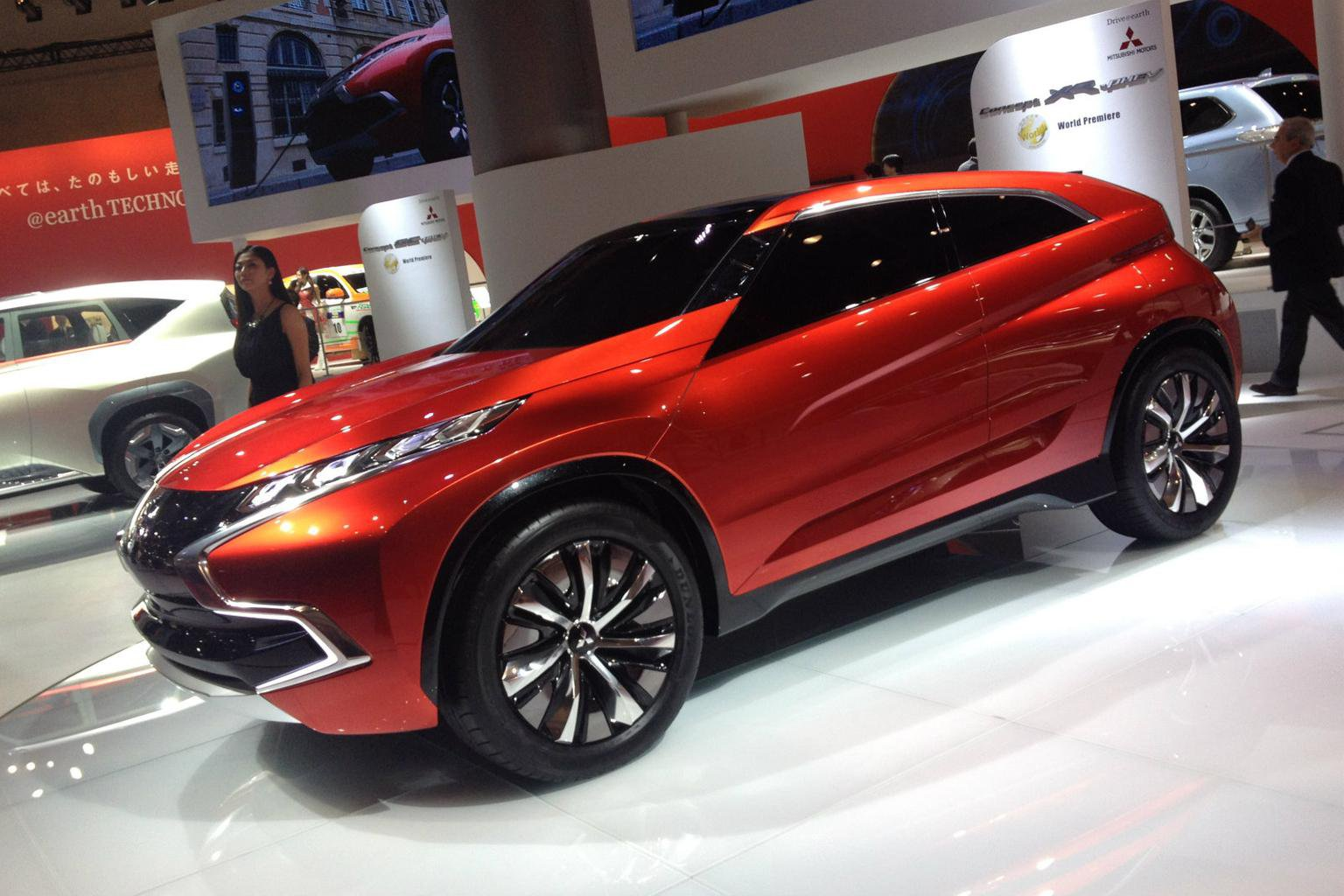 New Mitsubishi models previewed in Tokyo