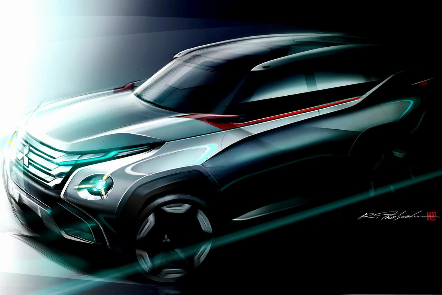 Mitsubishi concepts hint at next-gen models