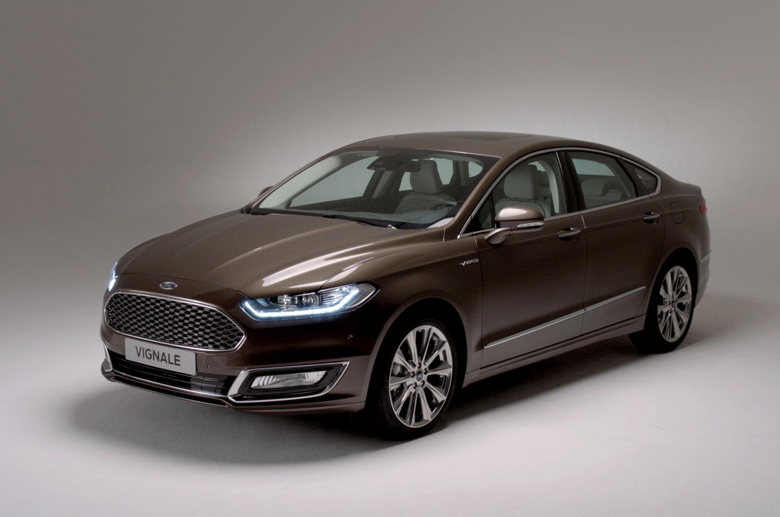 2015 high-spec Ford Mondeo Vignale revealed