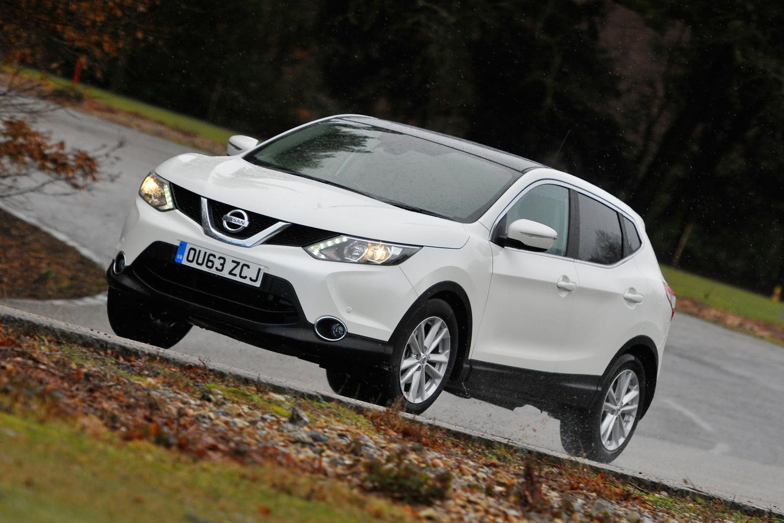 Our cars: Qashqai, Mazda 3 and Outlander PHEV