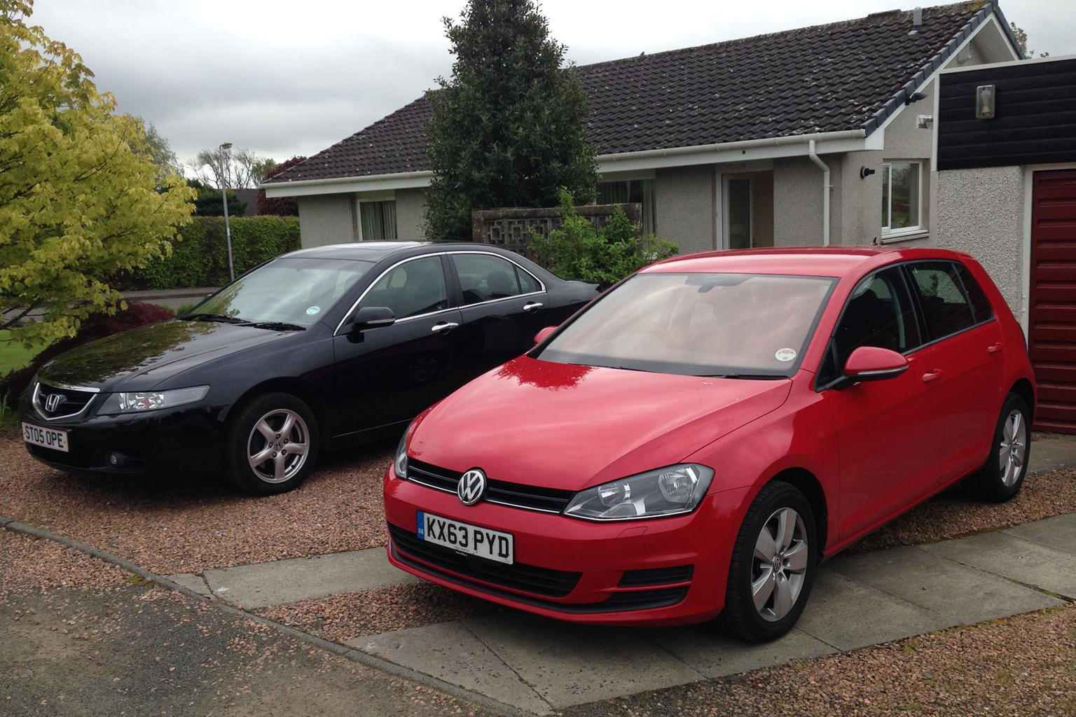 Our cars: Volkswagen Golf and Hyundai i10