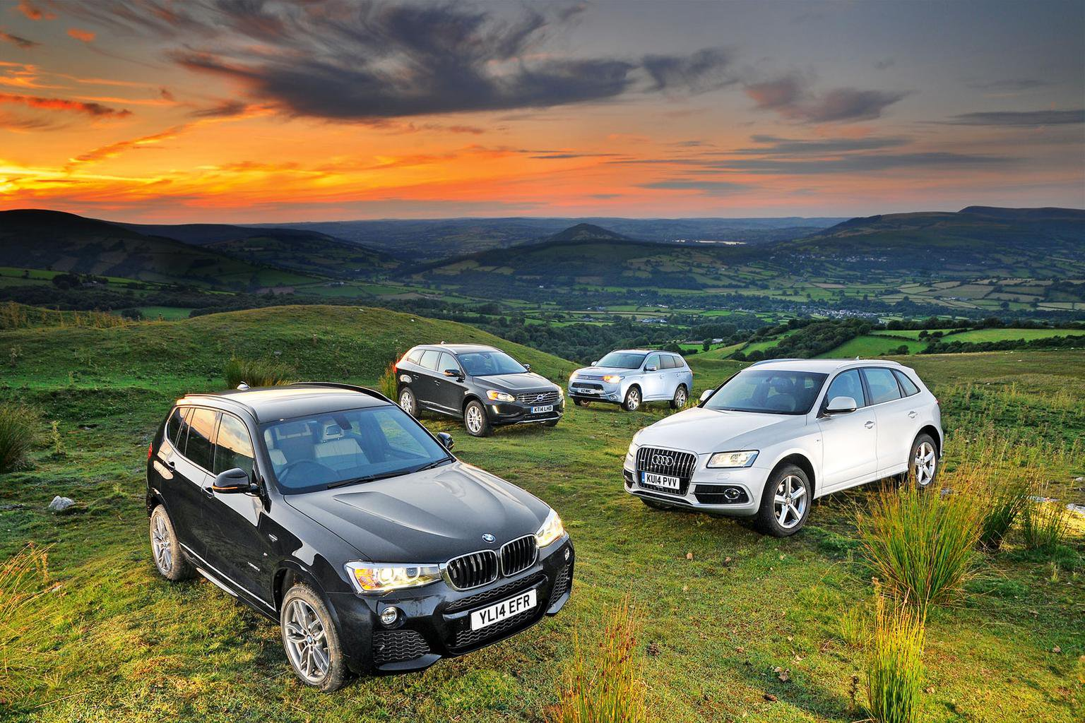 Bmw X3 Vs Audi Q5 Vs Mitsubishi Outlander Vs Volvo Xc60 What Car