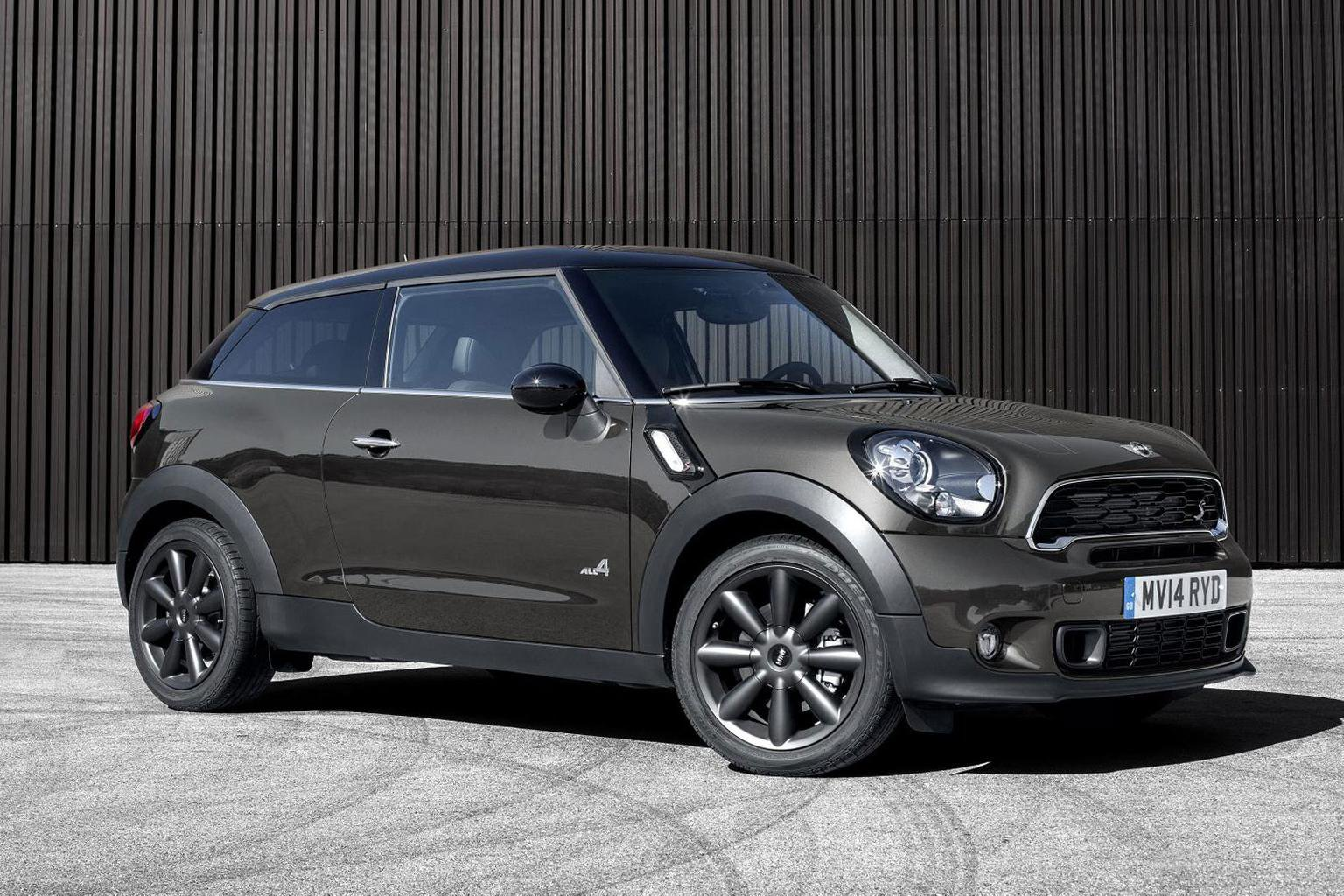 2014 Mini Paceman revealed