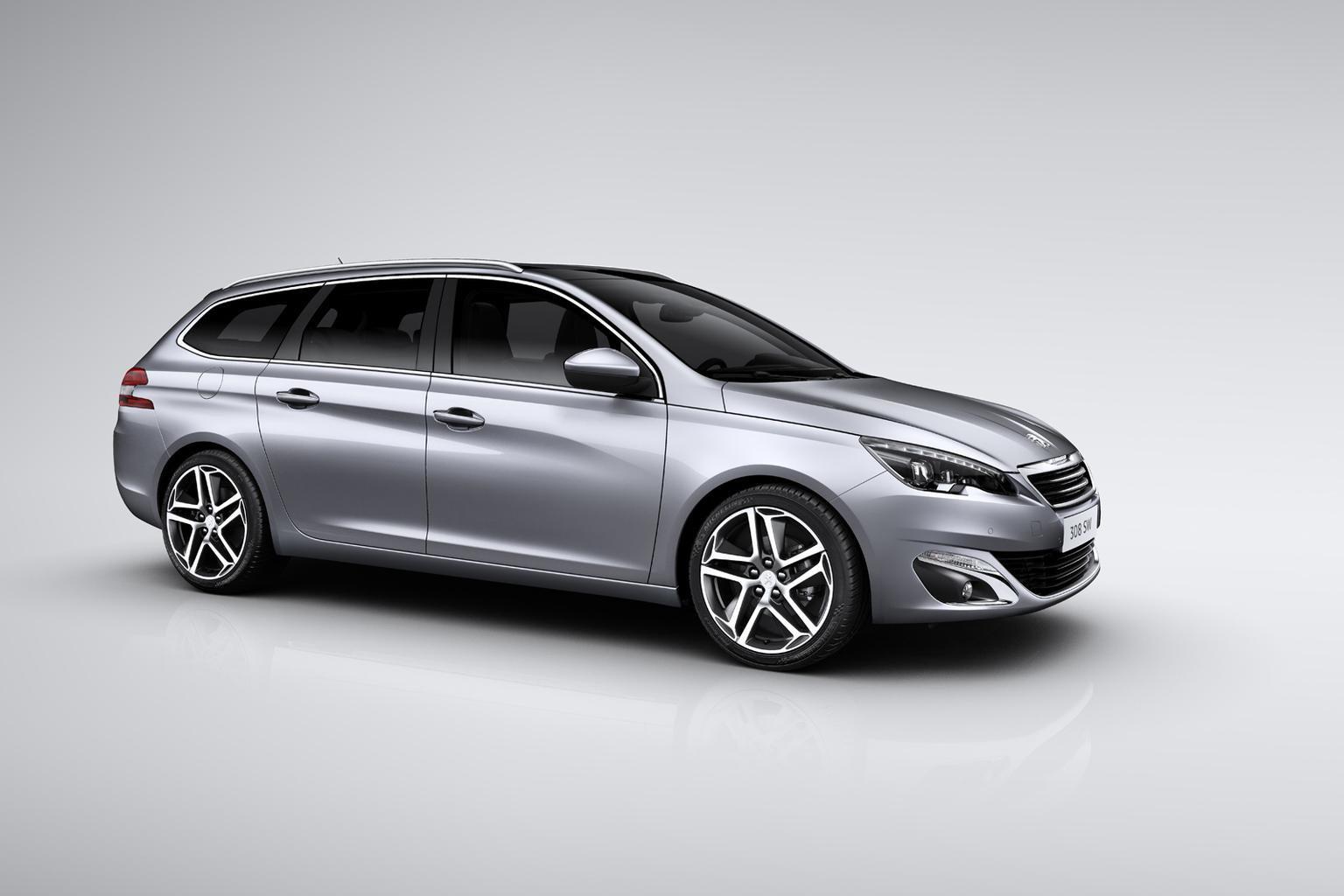 New Peugeot 308 SW estate revealed