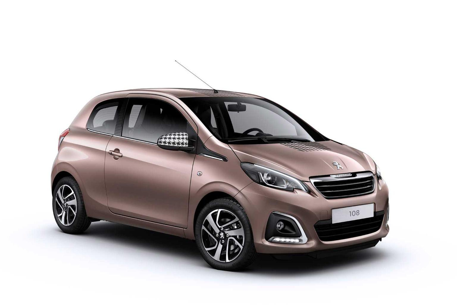 New Peugeot 108 city car costs from 8245