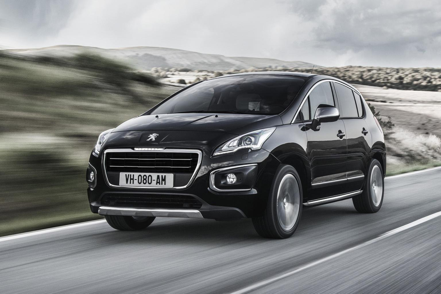 Face-lifted Peugeot 3008 prices announced