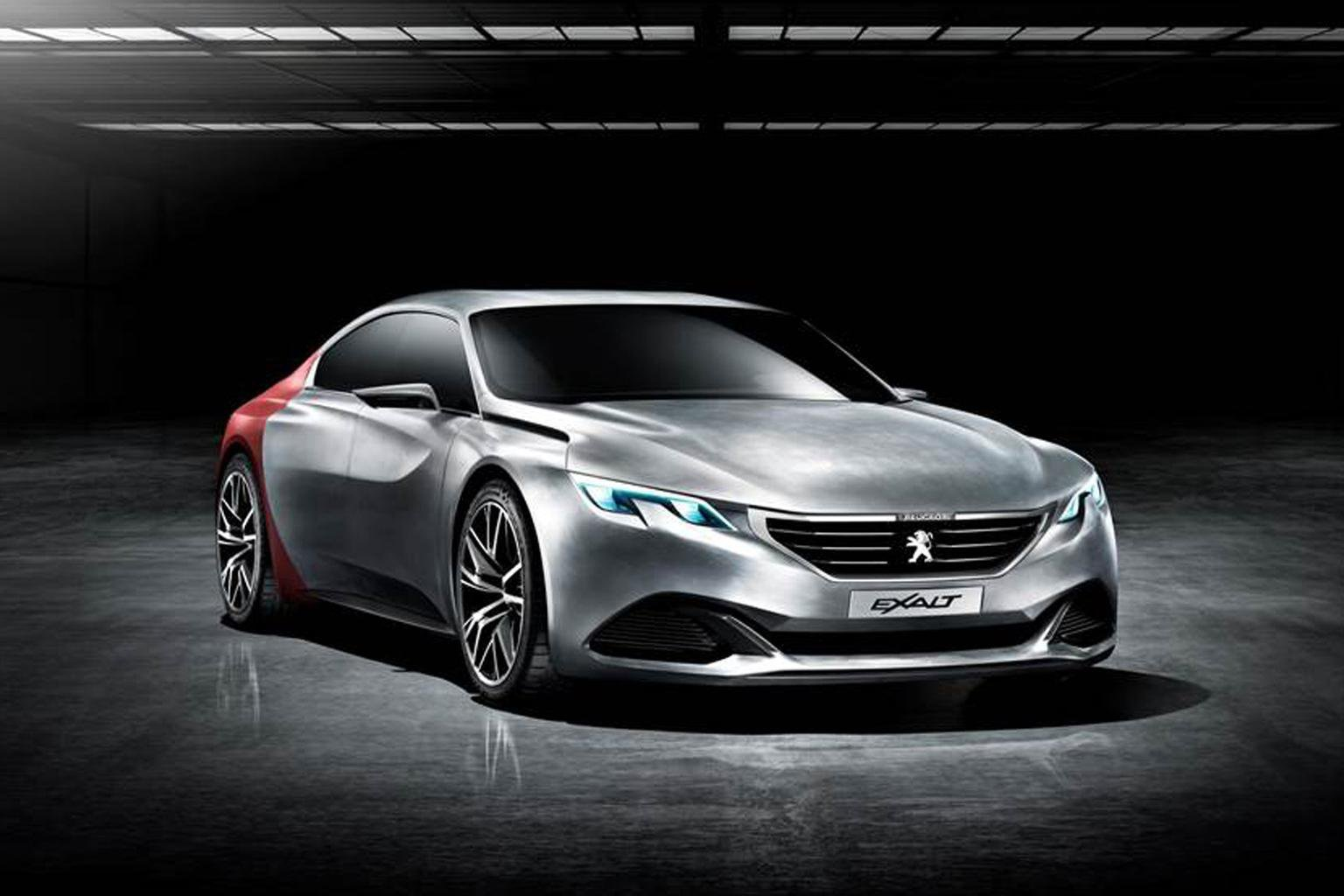 Peugeot Exalt concept showcases vision for luxury cars