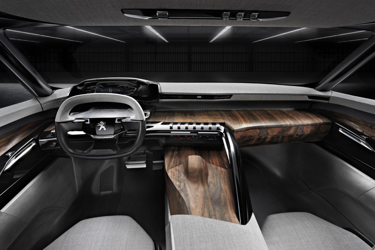 Peugeot looks at radical interiors for 2016 models