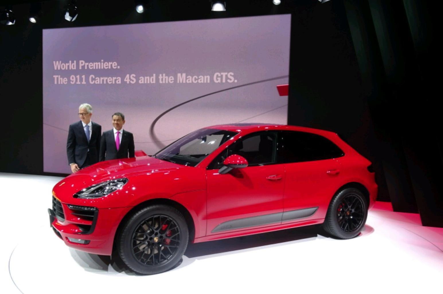 2016 Porsche Macan GTS revealed