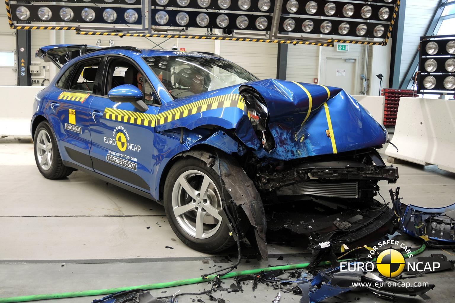 Porsche Macan gets five-star crash rating