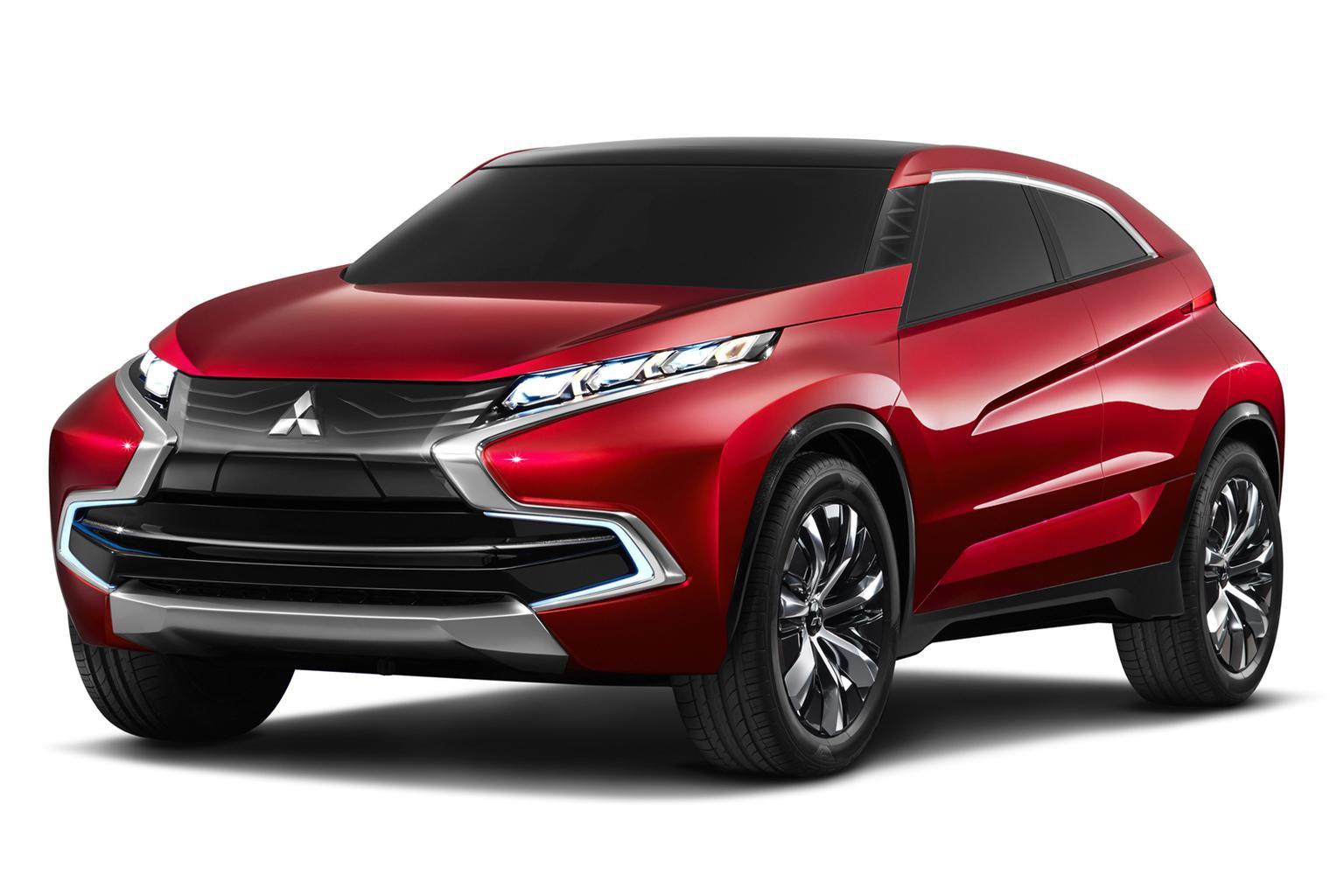 Mitsubishi previews Qashqai rival