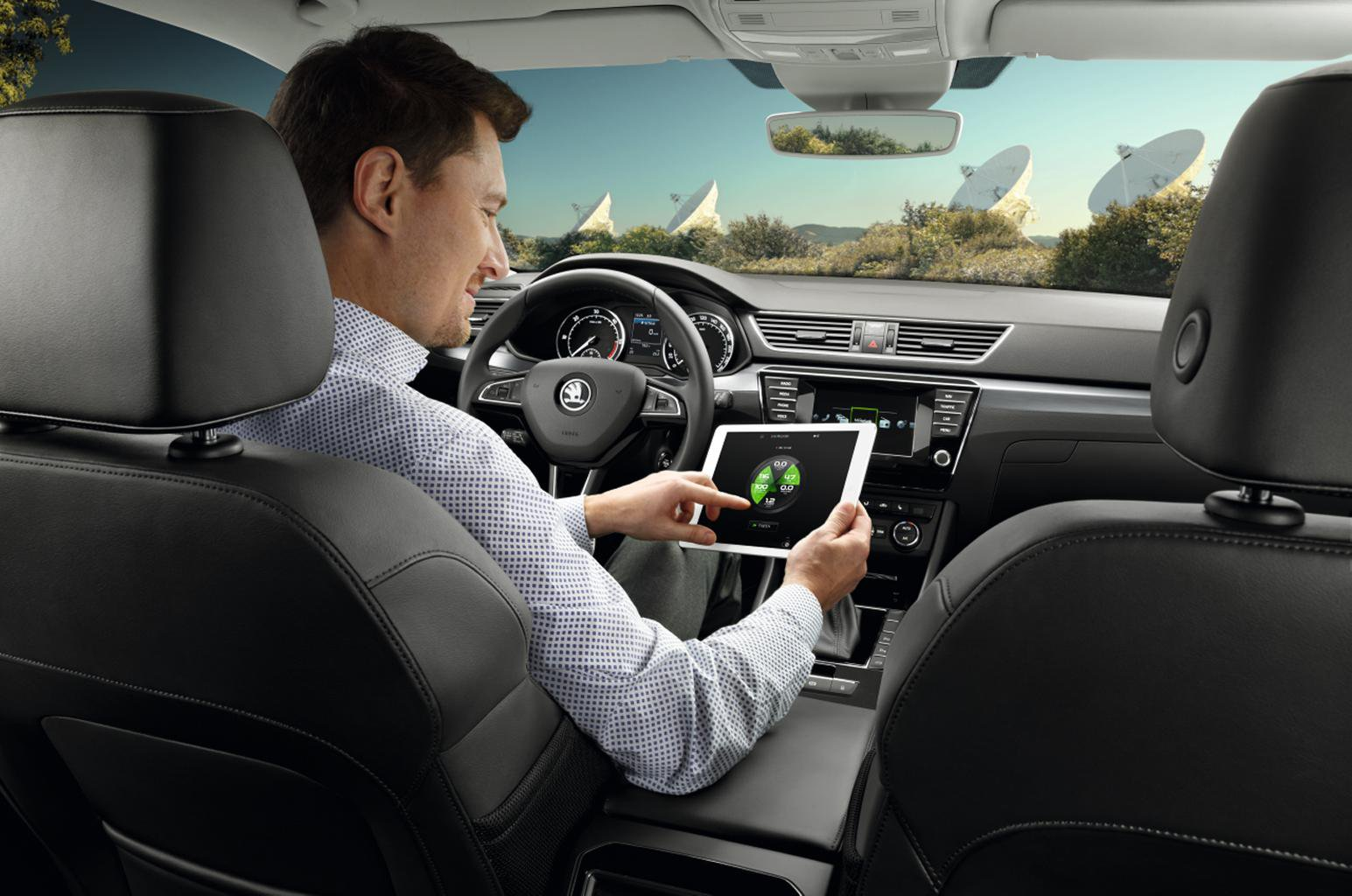 Promoted: Skoda Superb - smart technology ensures safety and comfort
