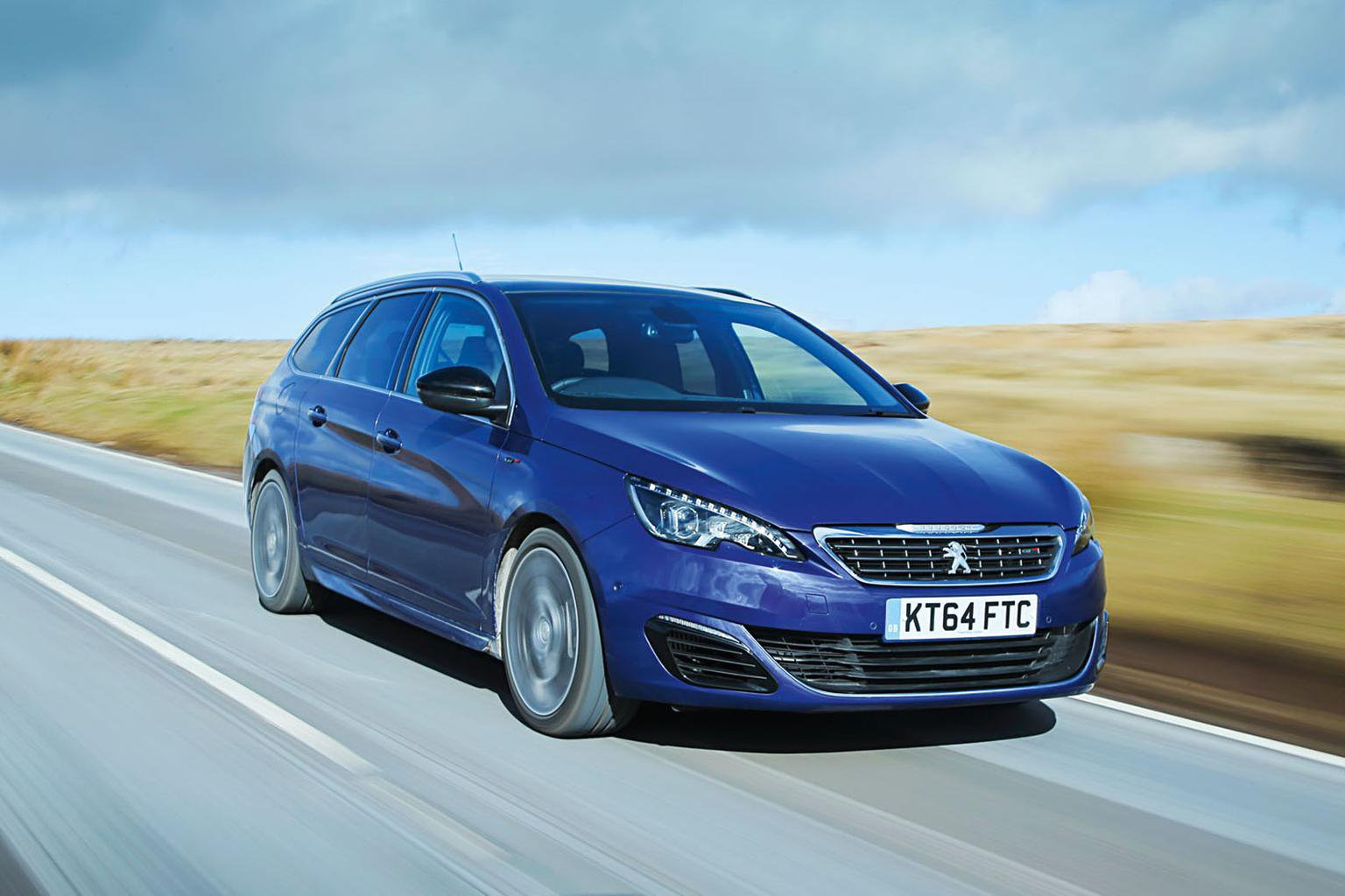 2015 Peugeot 308 SW GT Blue HDi 180