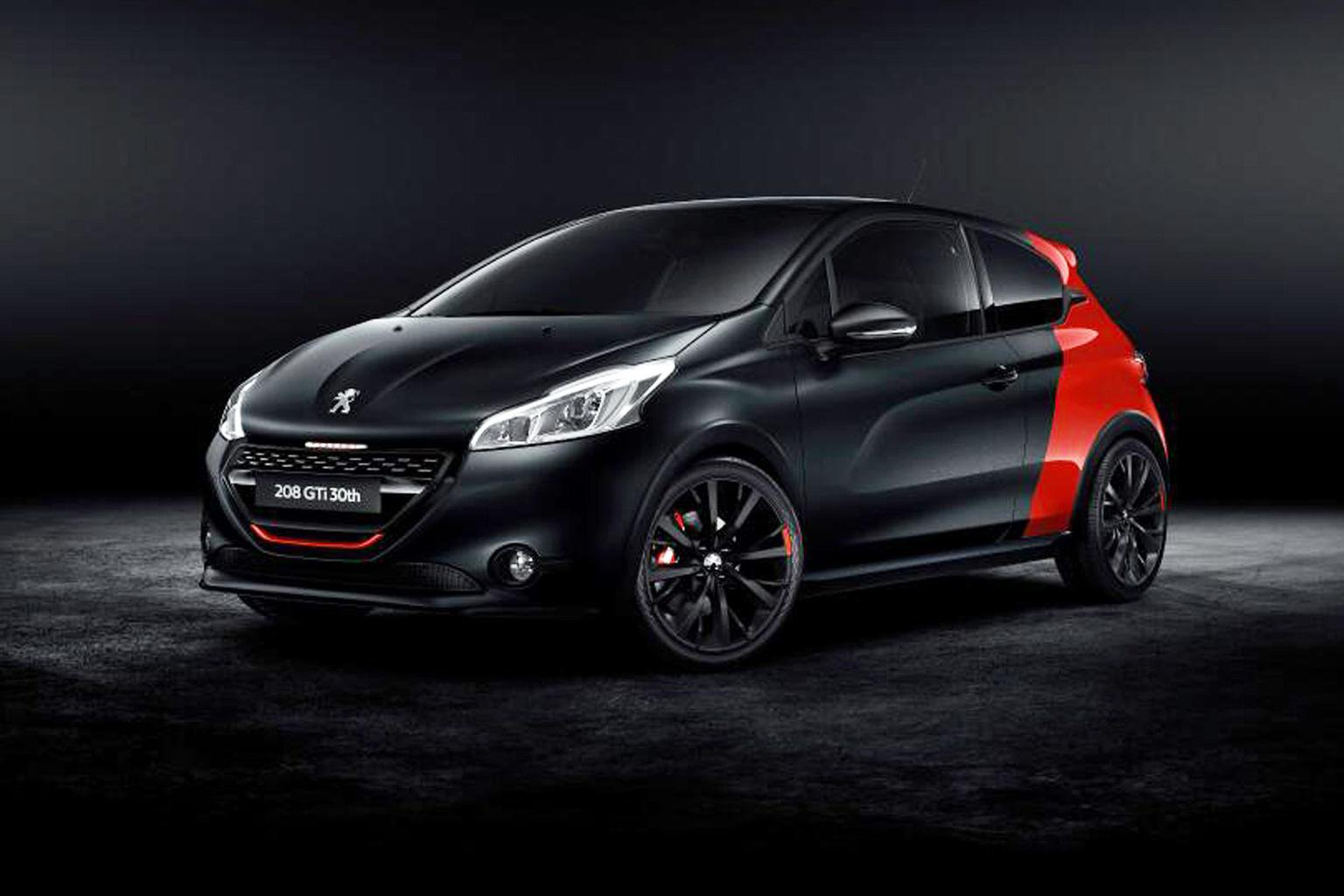 Peugeot 208 GTi 30th Anniversary edition at Goodwood