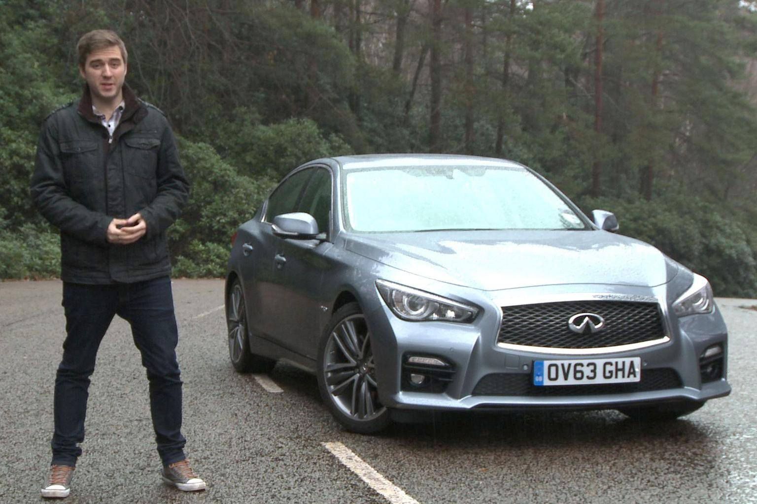 2014 Infiniti Q50 video road test