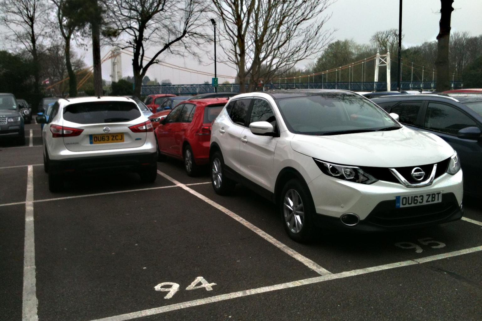 Our cars: Nissan Qashqai, Hyundai i10, Mazda 3 and Kia Carens