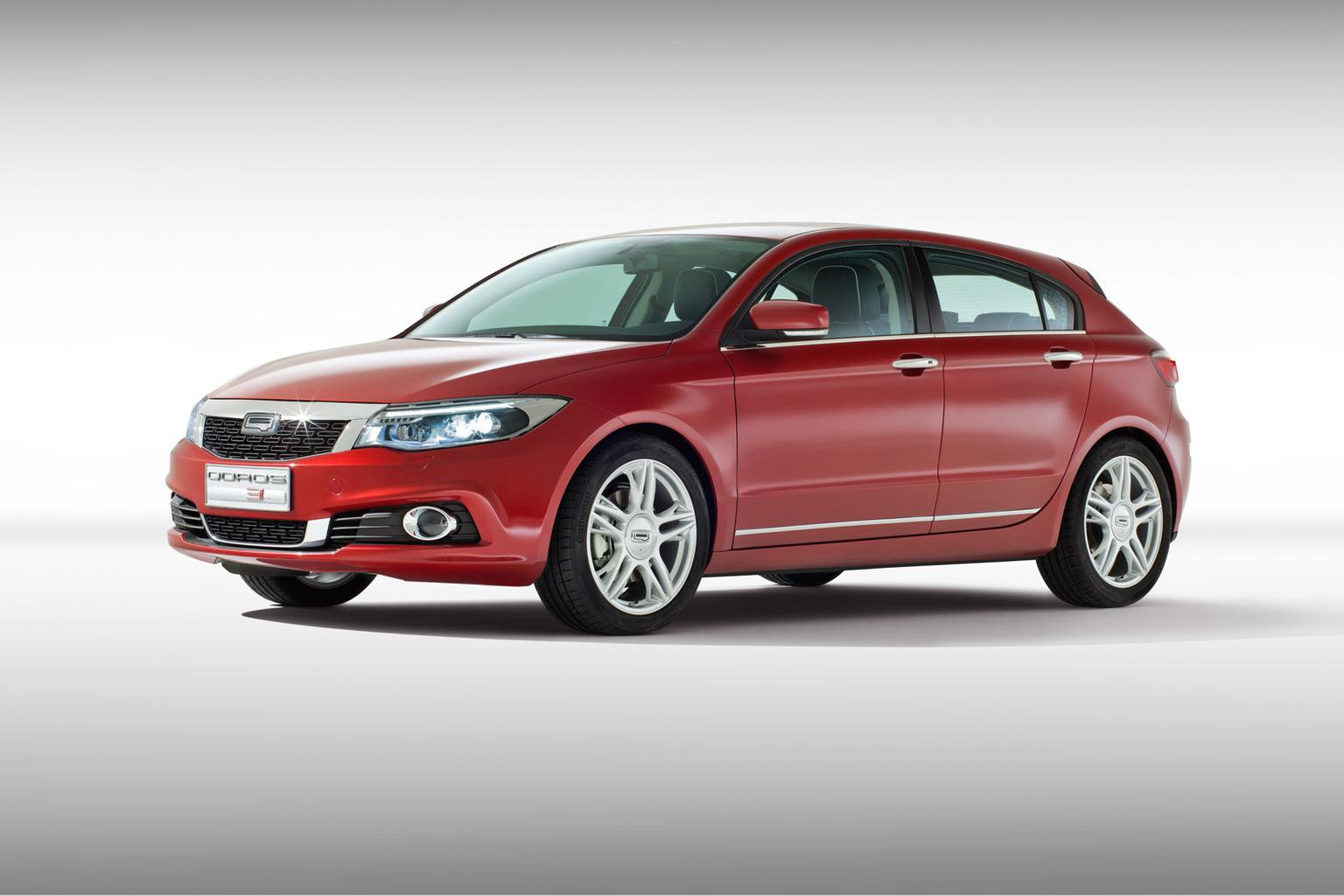 Qoros 3 hatchback appears at Geneva