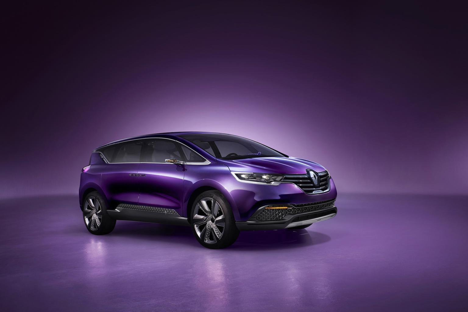 Renault Initiale concept previews next Espace