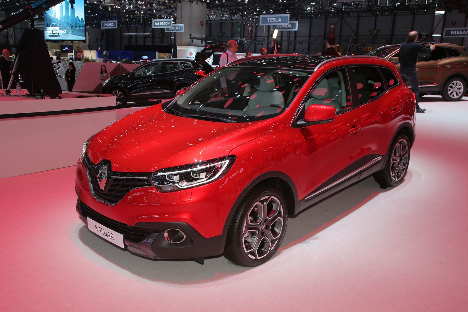 Be the first to see the Renault Kadjar in the UK