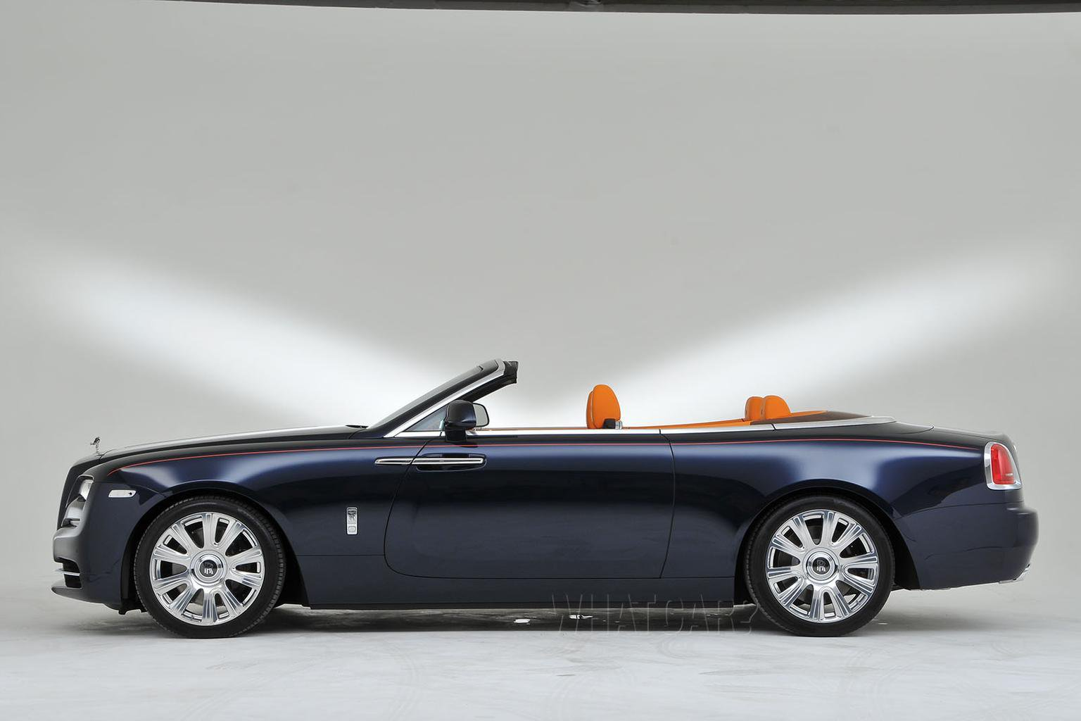 2015 Rolls-Royce Dawn revealed