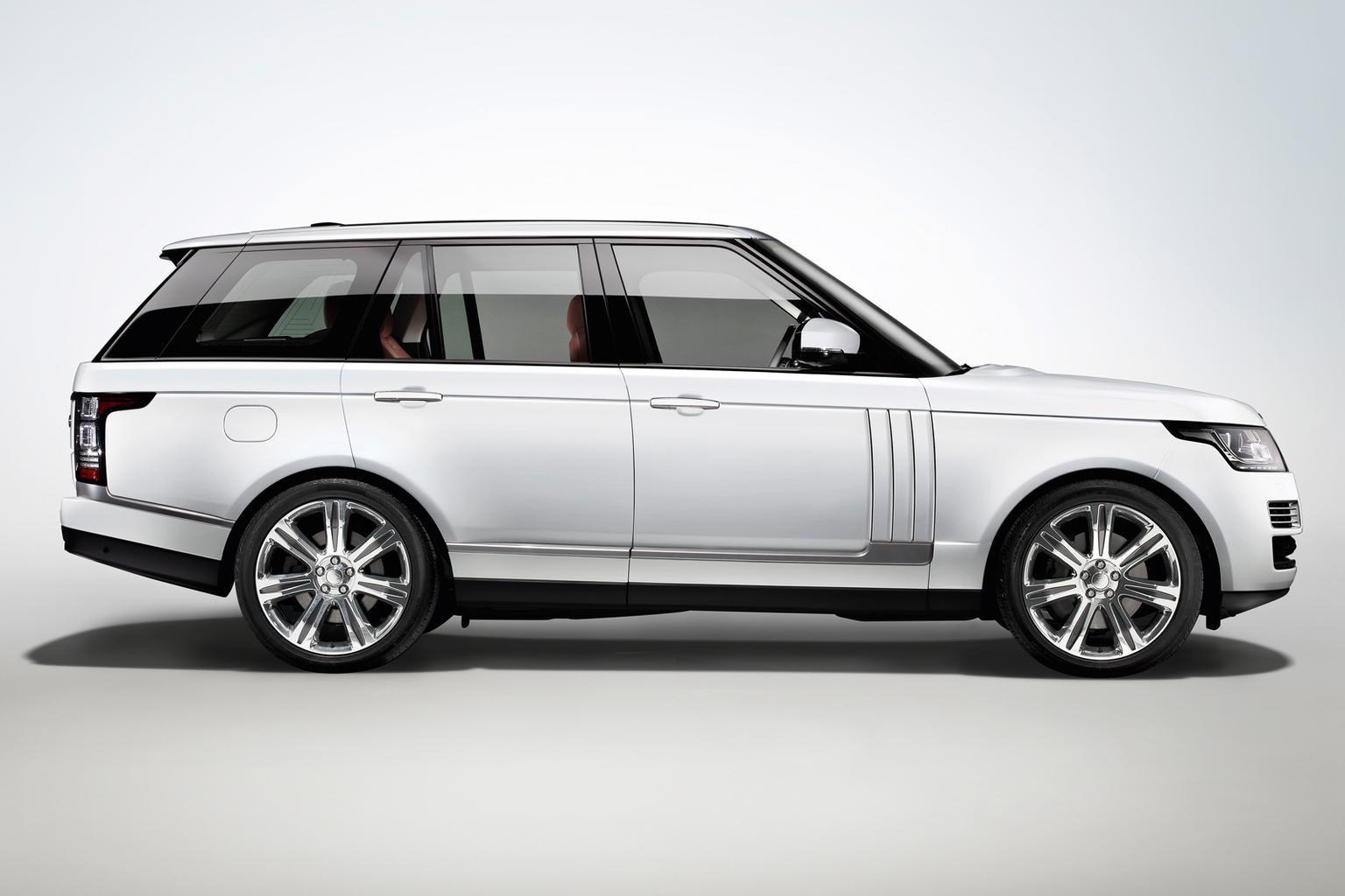 2014 Range Rover Long Wheelbase revealed