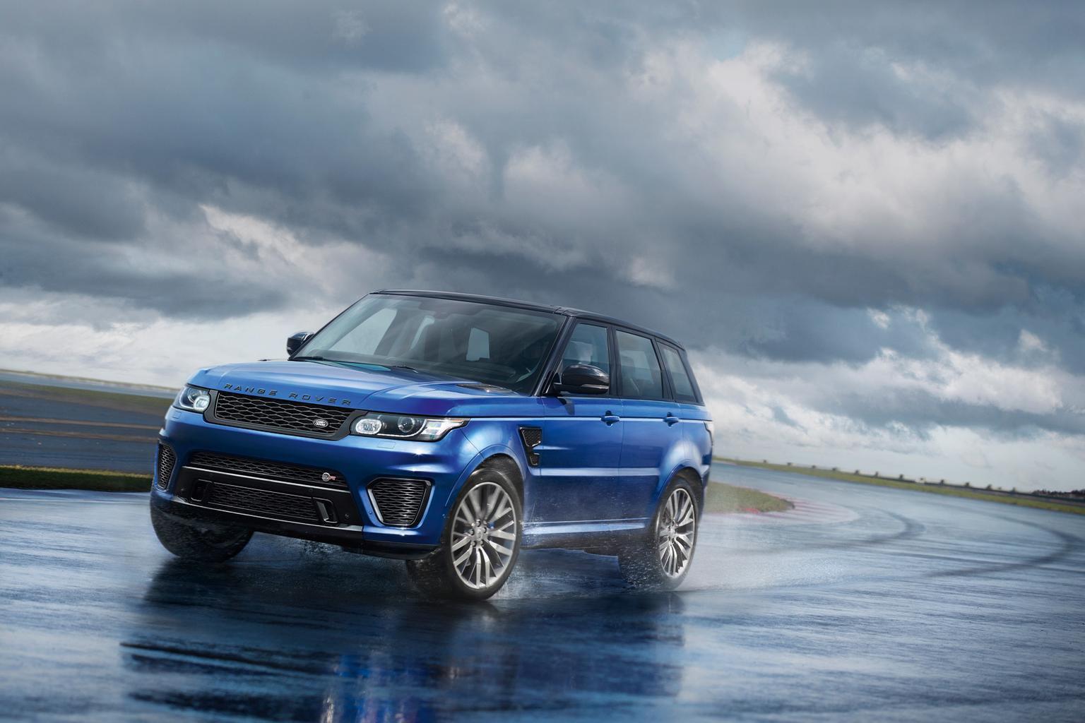Range Rover Sport SVR: fastest Land Rover yet