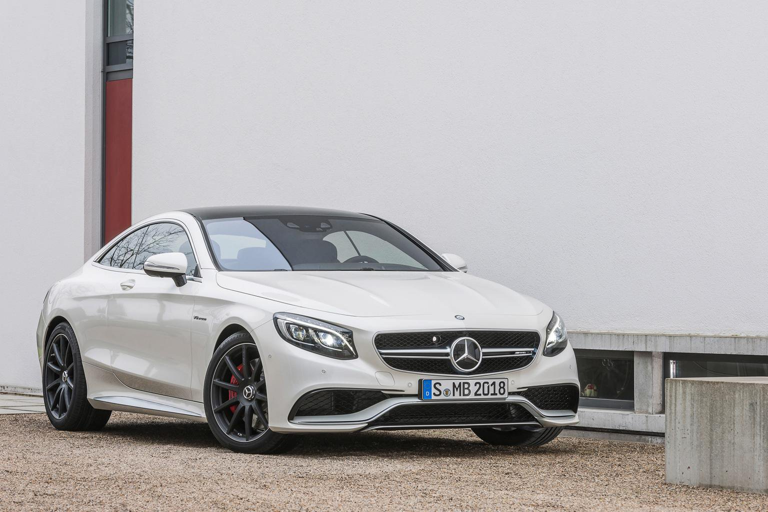 Mercedes S63 AMG Coupe revealed
