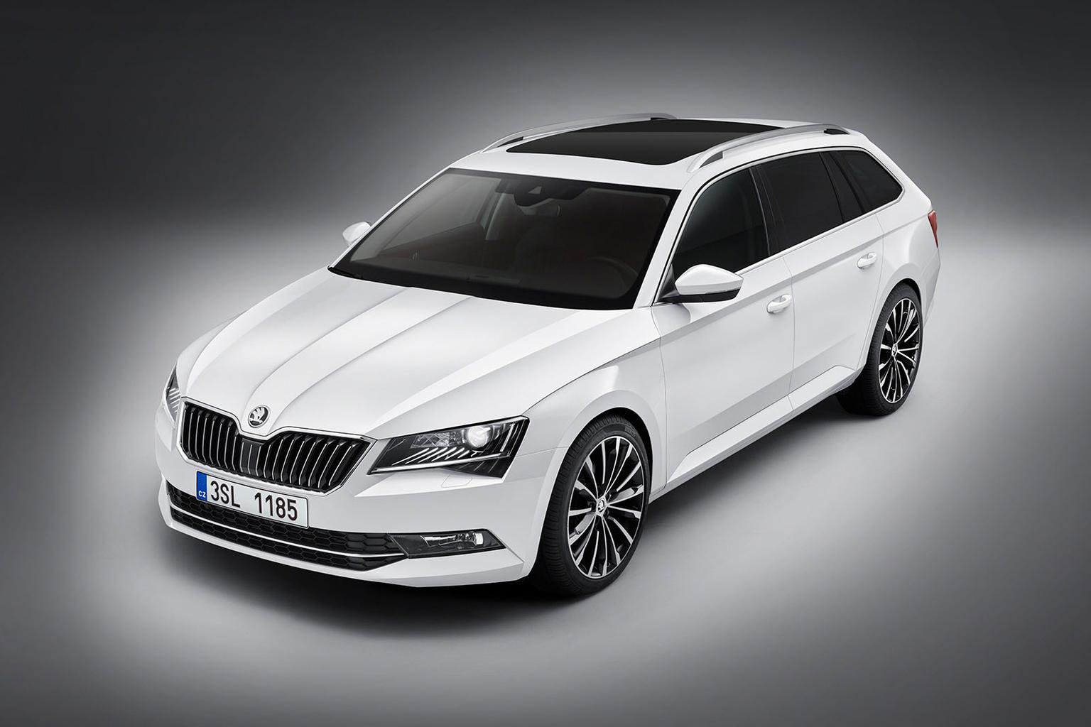 2015 Skoda Superb estate - pictures, specification and on-sale date