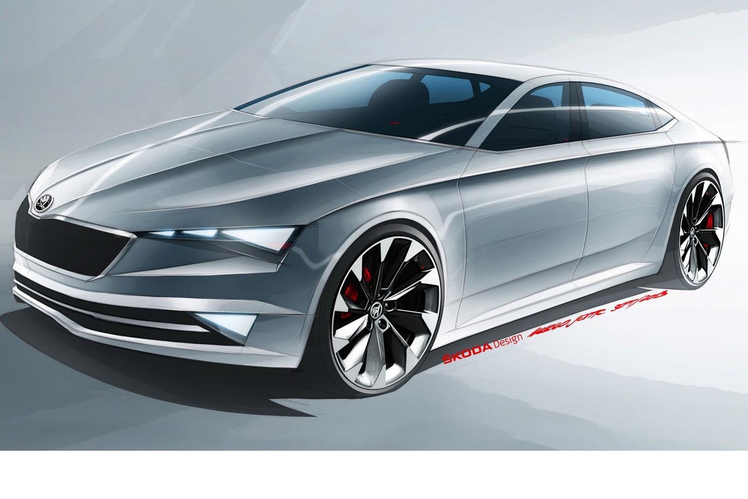 Skoda previews new 'five-door coupe'