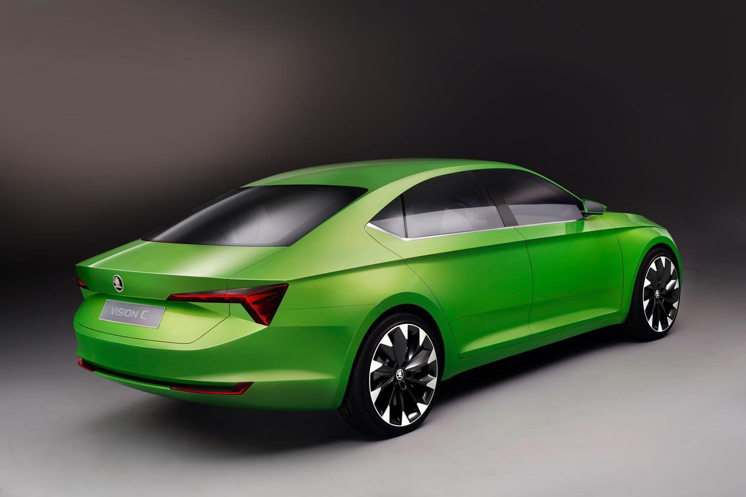 Skoda VisionC five-door coupe concept revealed