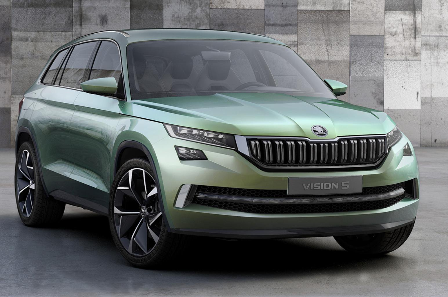 Skoda previews new SUV with VisionS concept