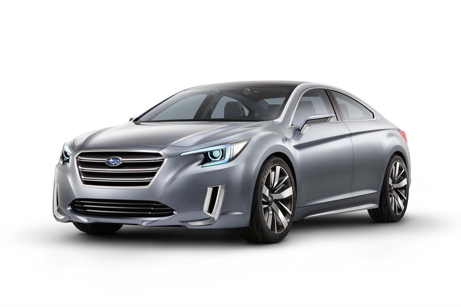 Subaru Legacy concept makes LA show debut