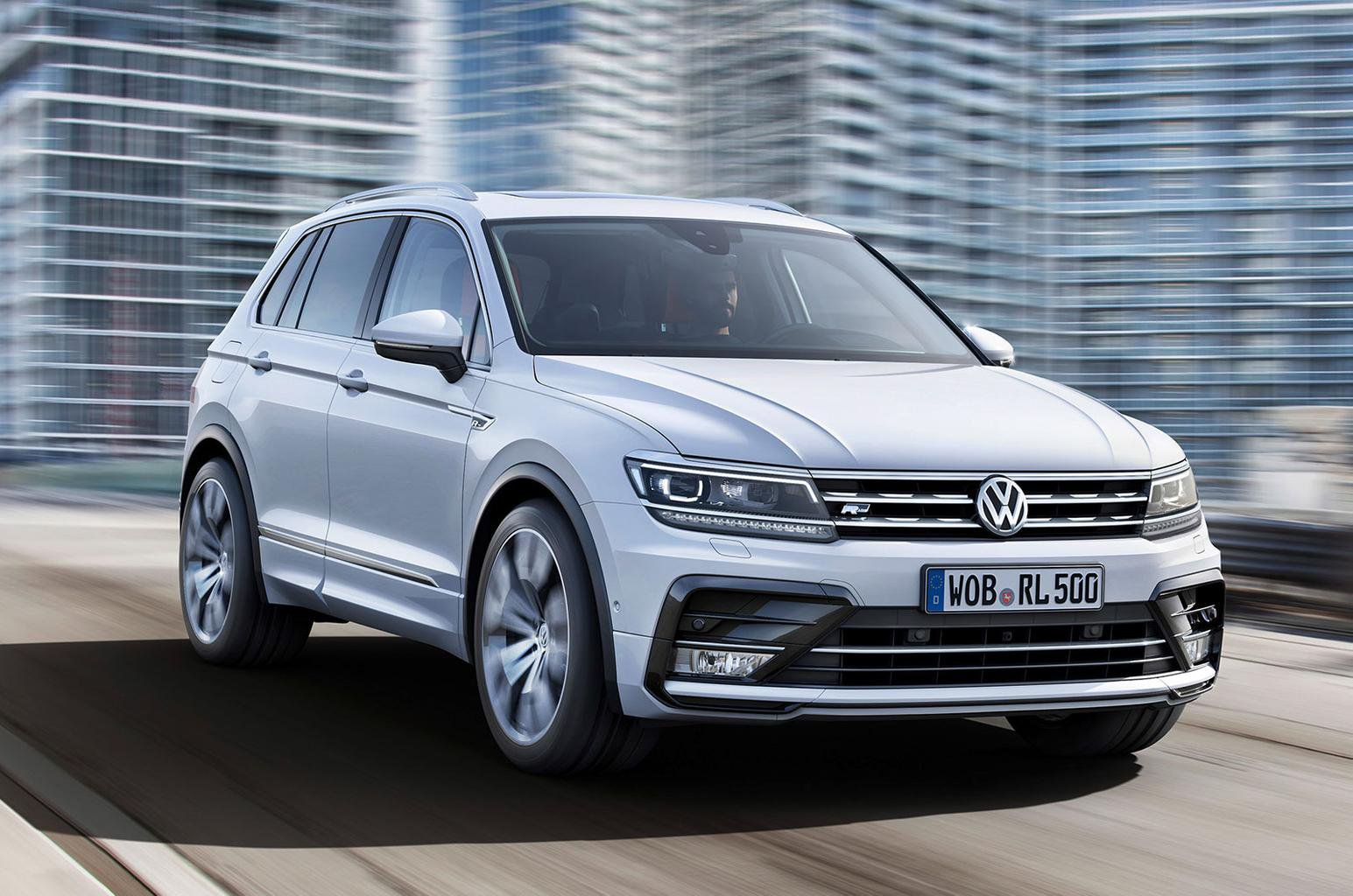 New Volkswagen Tiguan revealed at Frankfurt motor show