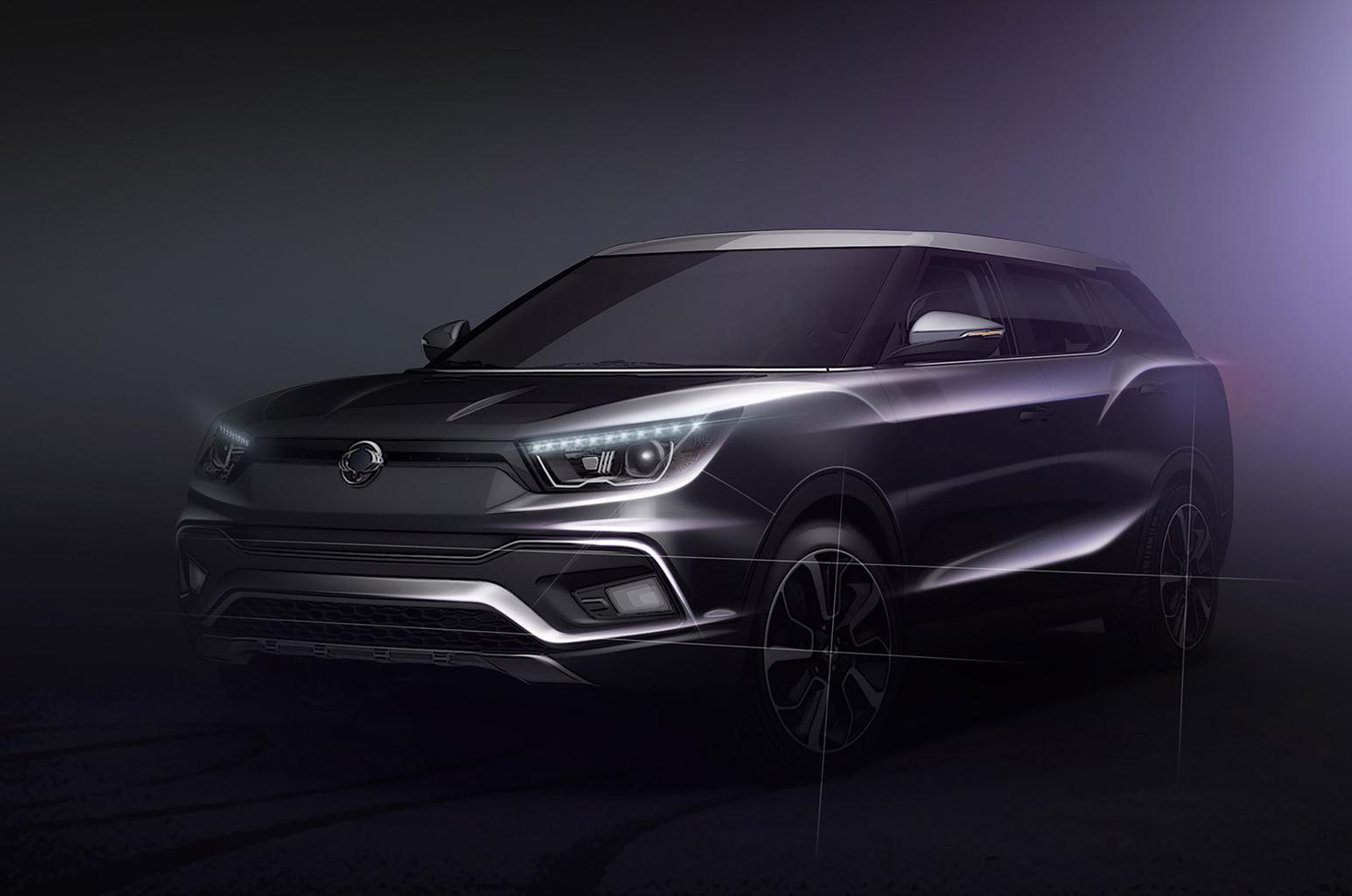 SsangYong to show extended Tivoli and preview new large SUV in Geneva
