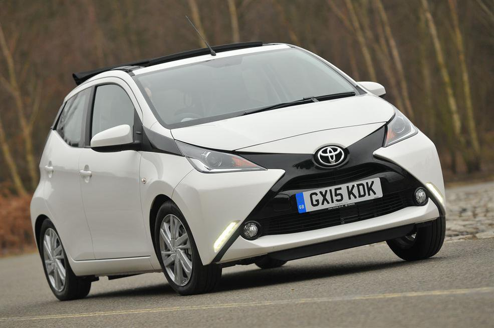 2015 Toyota Aygo 1.0 X-pression X-wave review