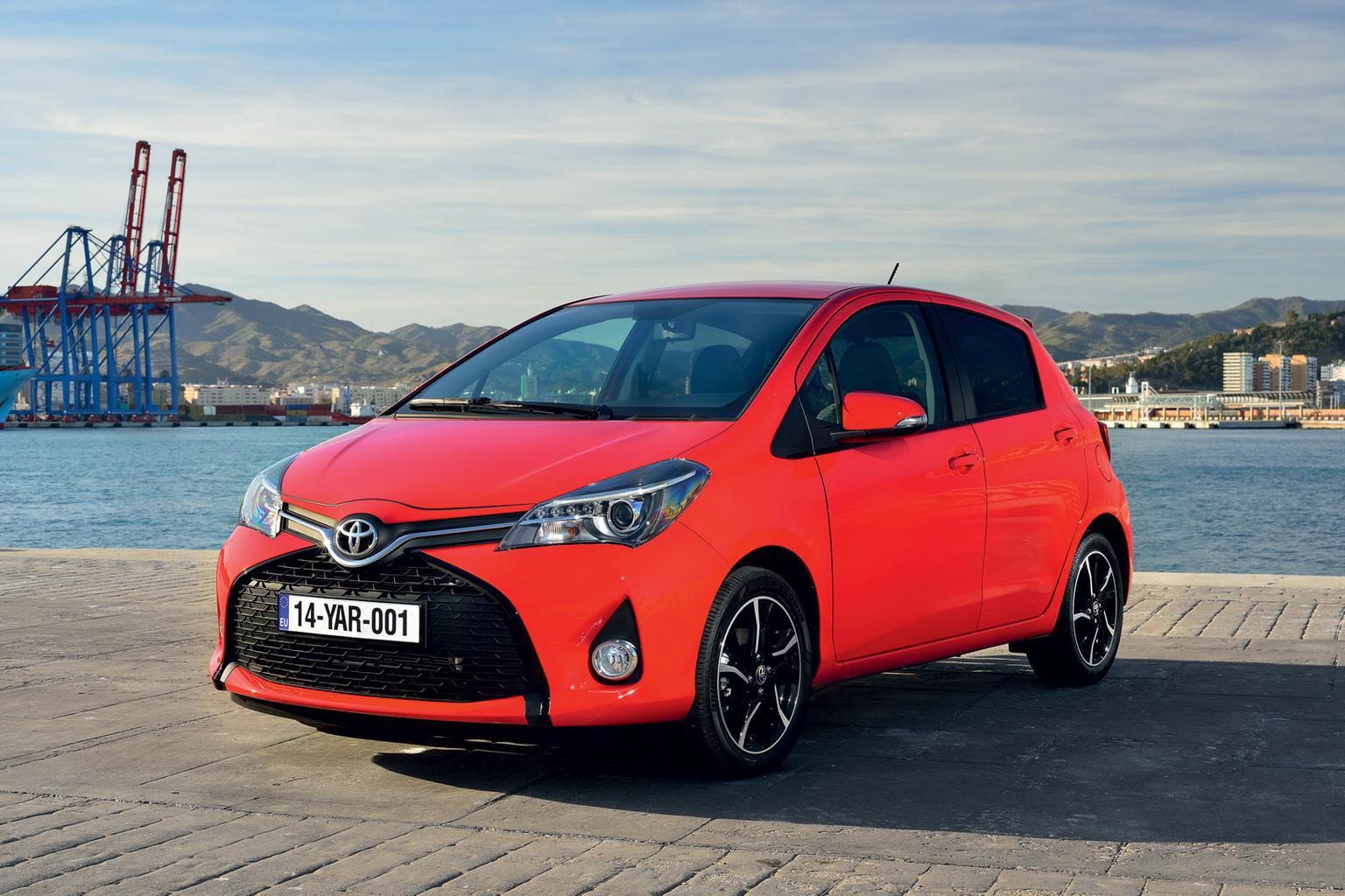 2014 Toyota Yaris face-lift revealed