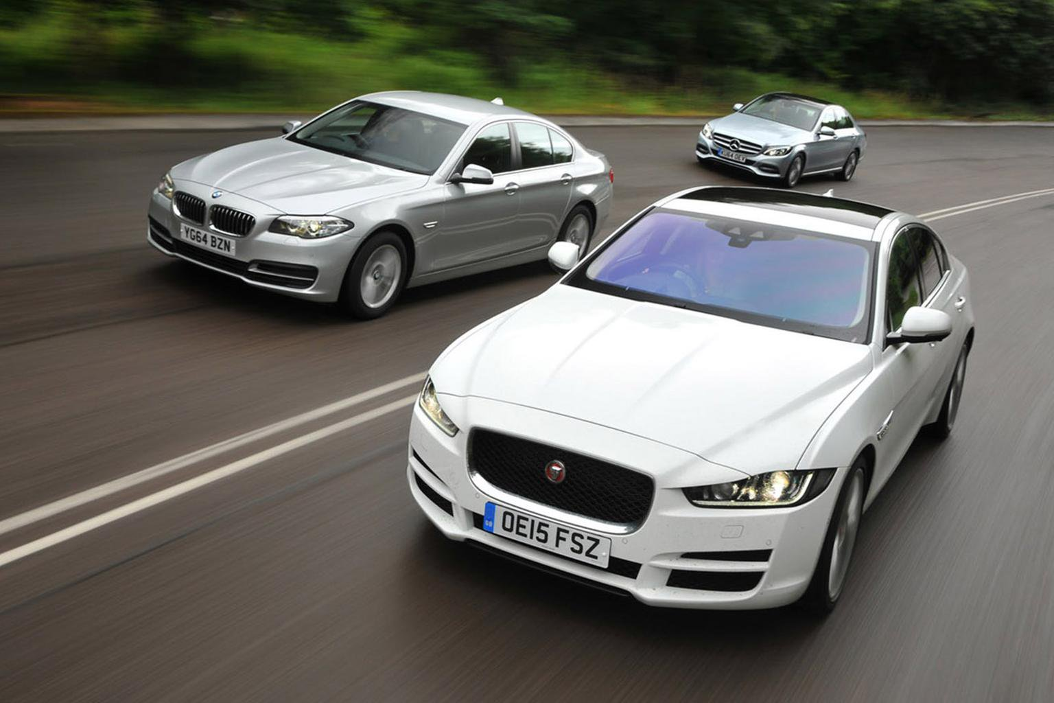 Jaguar XE vs Mercedes C-Class vs BMW 5 Series
