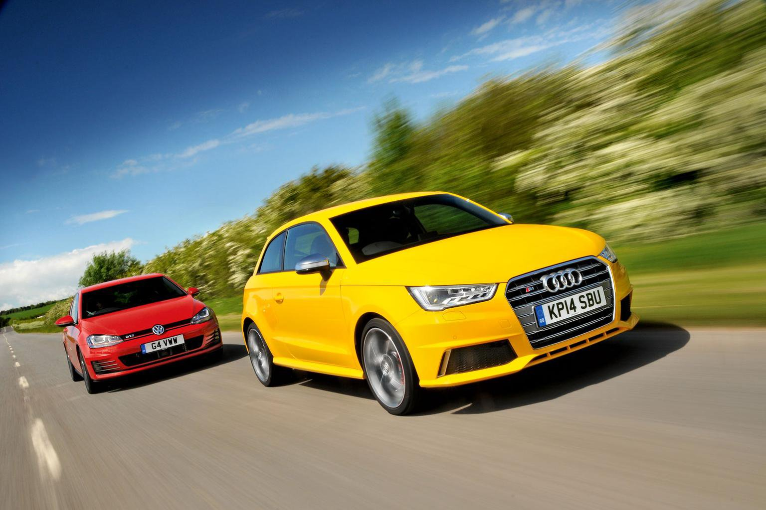 Audi S1 vs Volkswagen Golf GTI