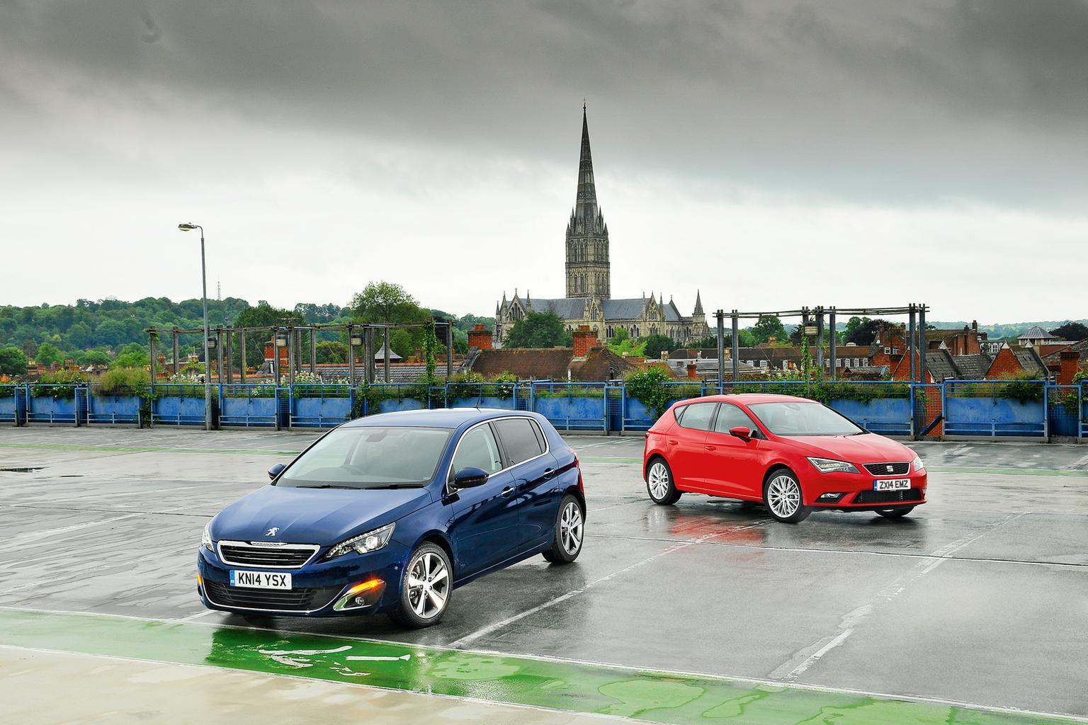 Peugeot 308 vs Seat Leon
