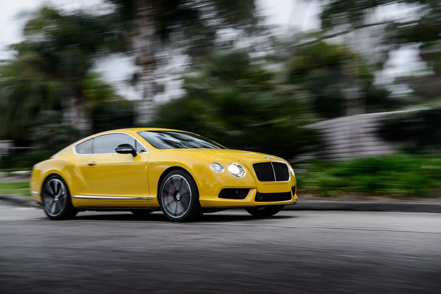 2014 Bentley Continental GT V8 S review