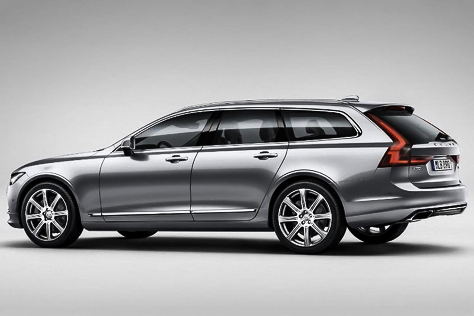 2016 Volvo V90 pictures leak ahead of its Geneva show debut