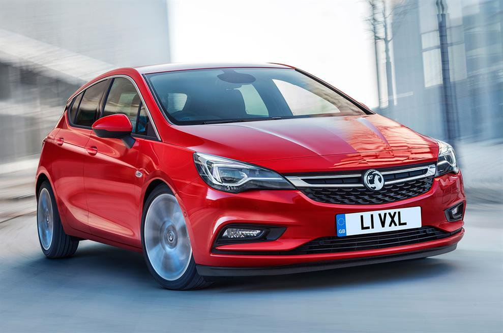 2015 Vauxhall Astra - exclusive reader test team preview
