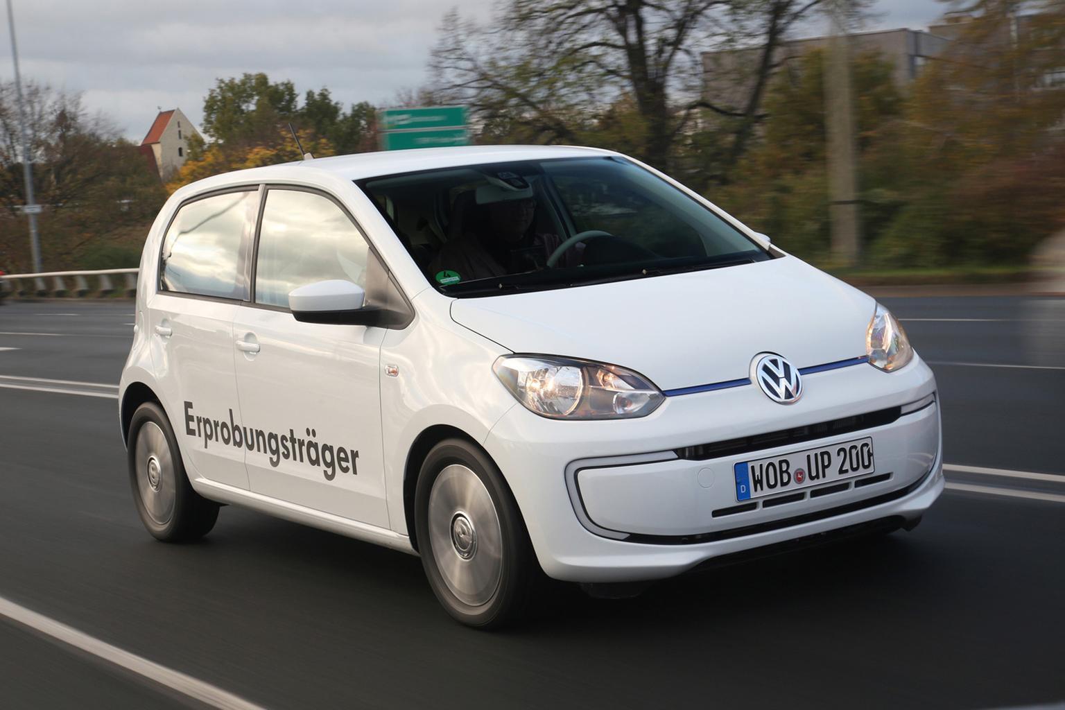Volkswagen Twin-Up diesel plug-in hybrid revealed