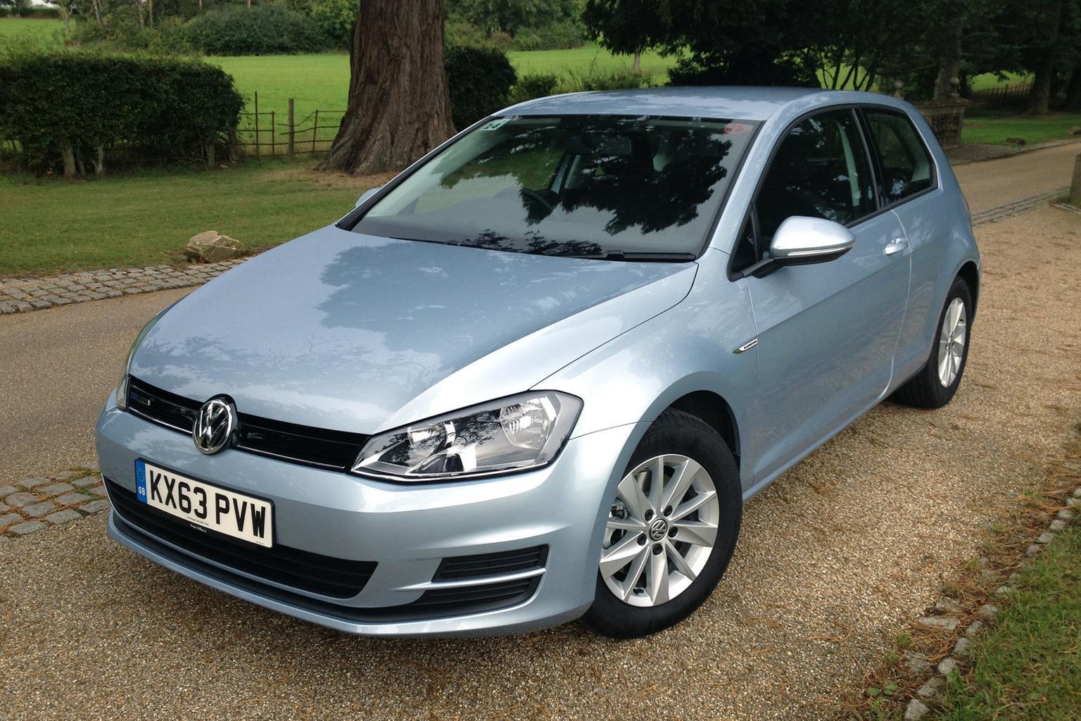 2013 Volkswagen Golf Bluemotion review