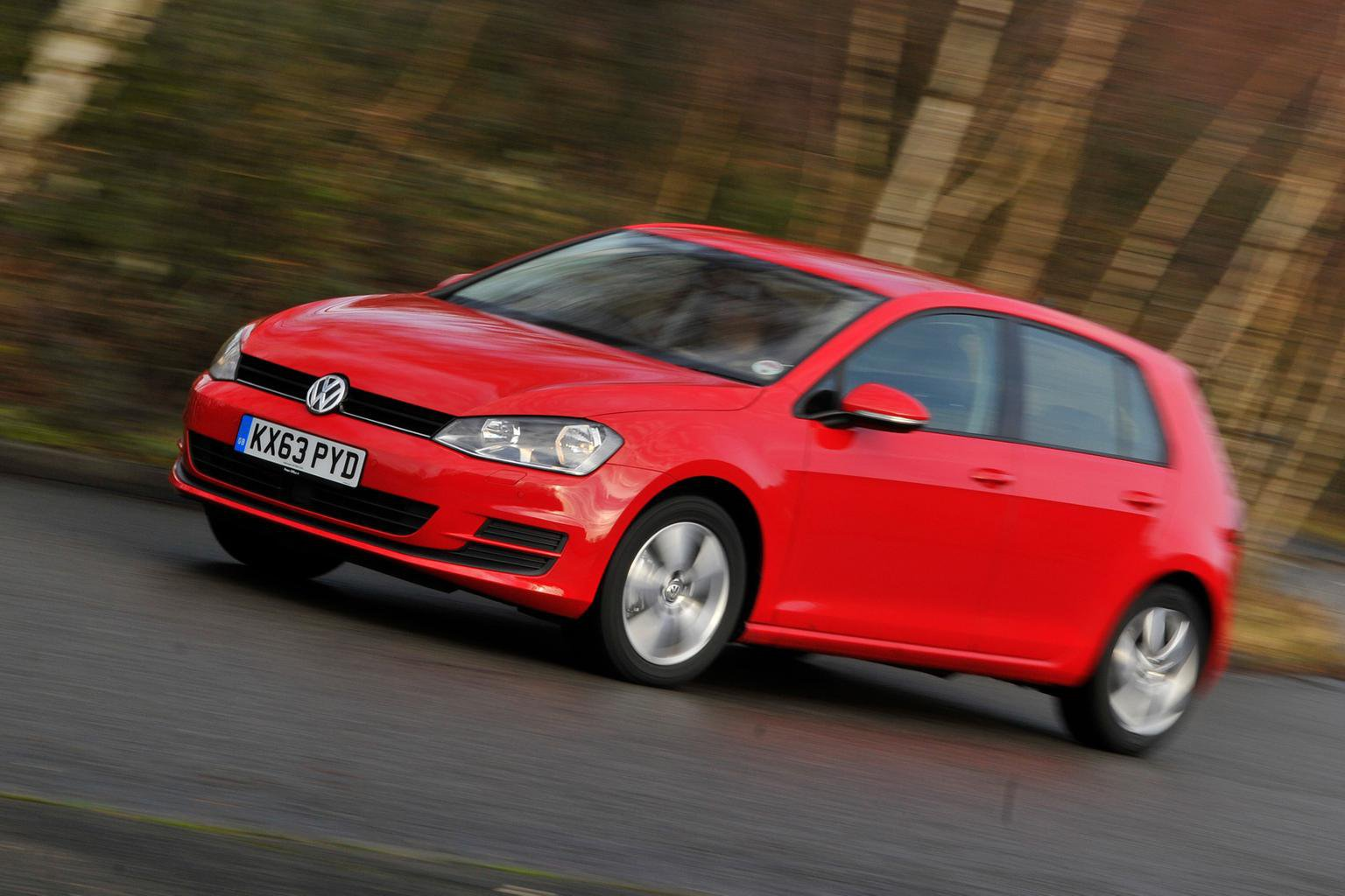 Our cars: Volkswagen Golf hello