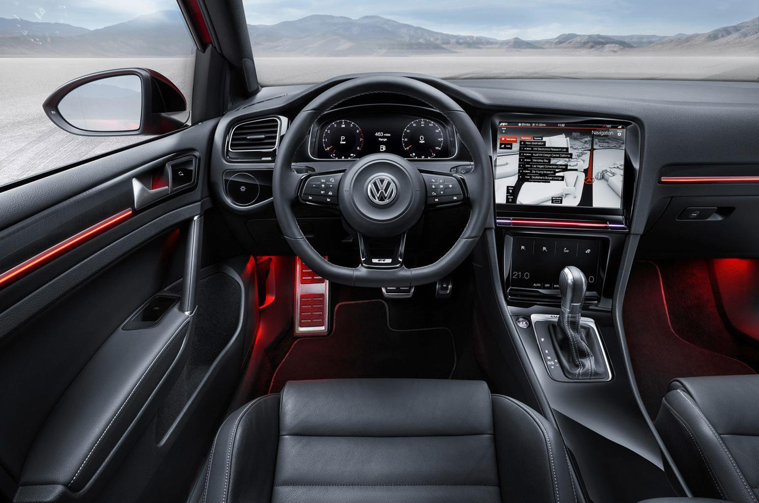 VW shows off possible future dashboard tech