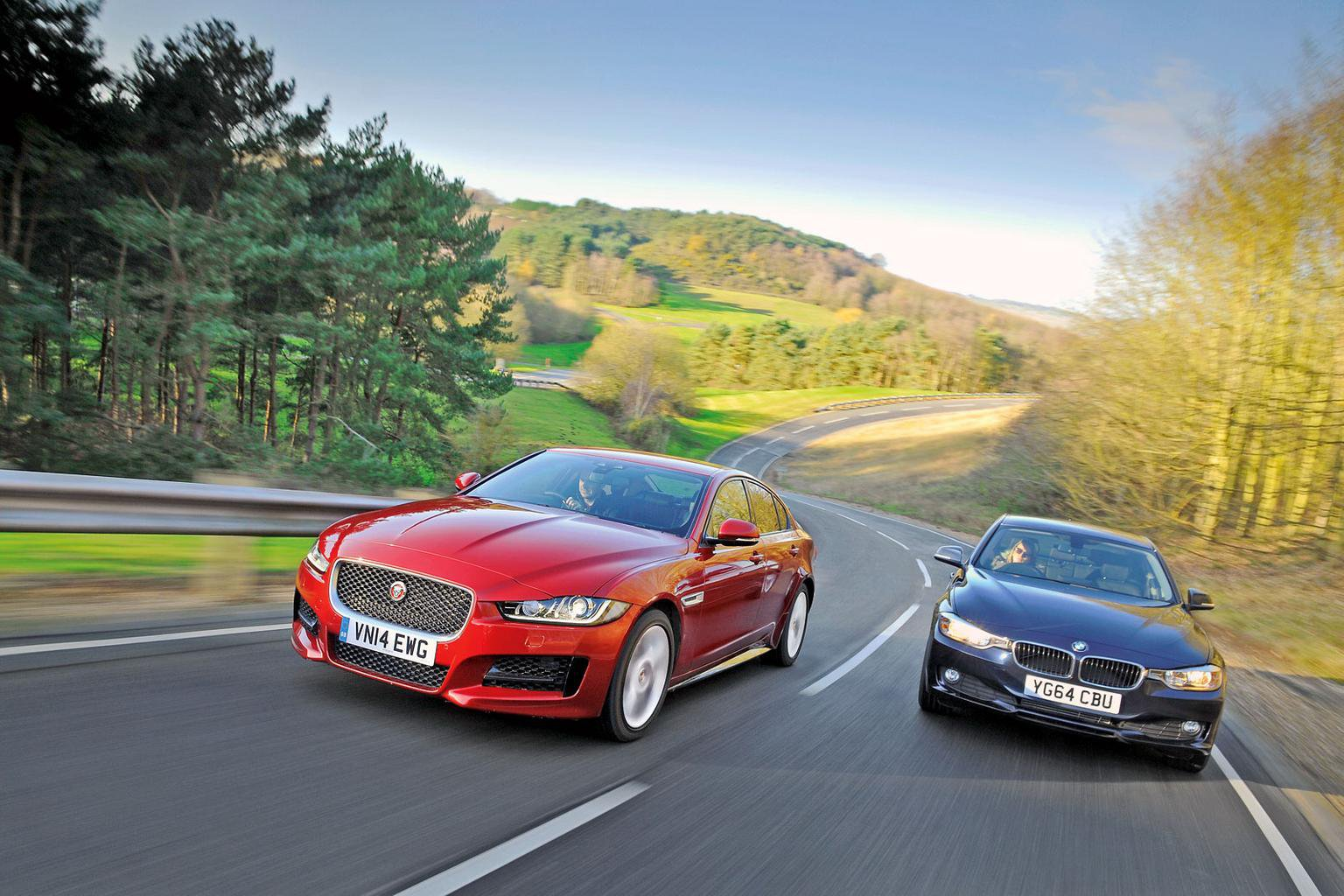 Jaguar XE: how it beat the BMW 3 Series
