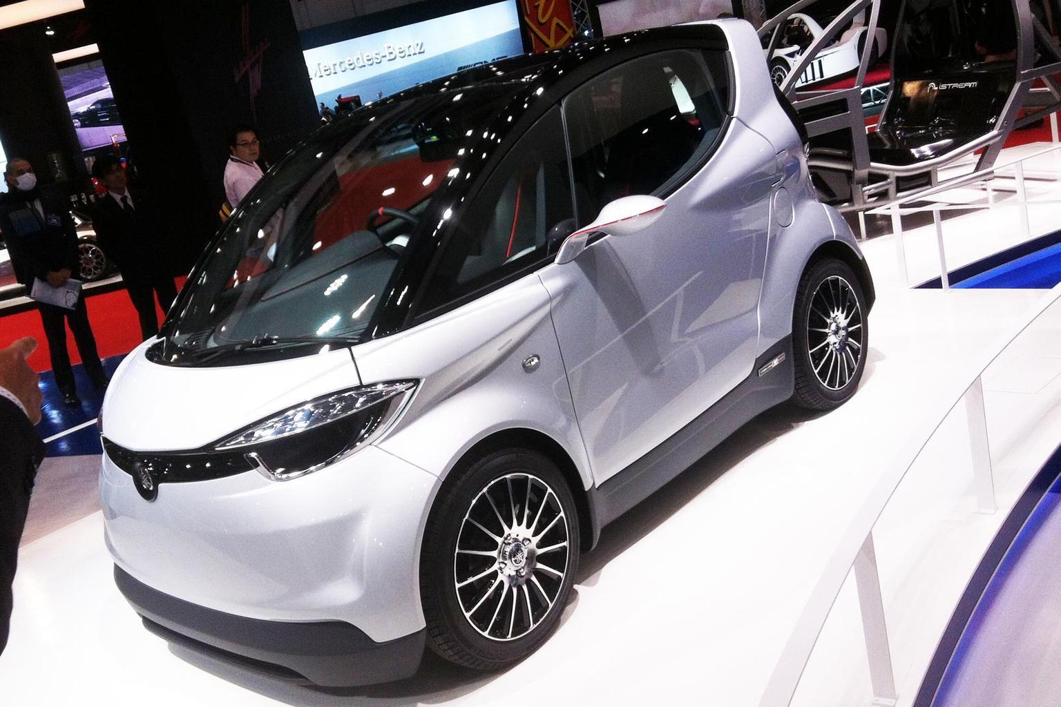 Yamaha unveils Motiv.e city car concept at Tokyo motor show